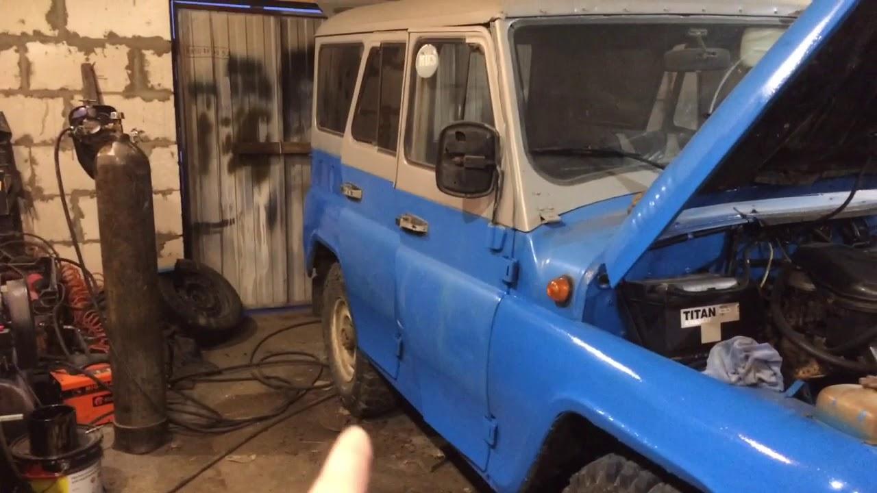 Ремонт кузова Уаз 469 с минимальным бюджетом - YouTube