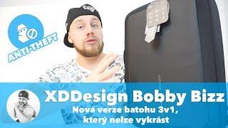 Nová verze batohu/tašky 3v1, který NELZE VYKRÁST...!!! (XD Design Bobby Bizz Anti-Theft Review)