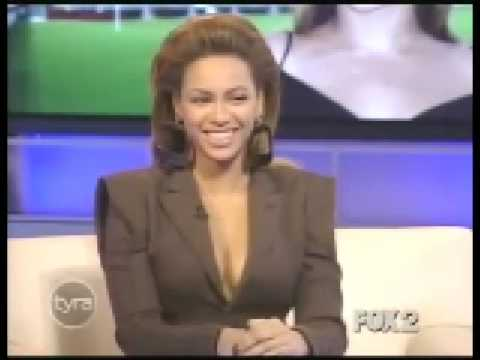 Beyoncé - Russian accent and imitation of Aaron Neville