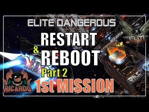 Elite: Dangerous Beginners Guide Reboot & Restart 2  - My first trade mission