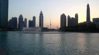 Dubai Water Fountain - Bassbor Al Fourgakom