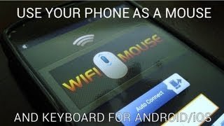How to Use Your Phone as a Mouse and Keyboard (Android/iOS)