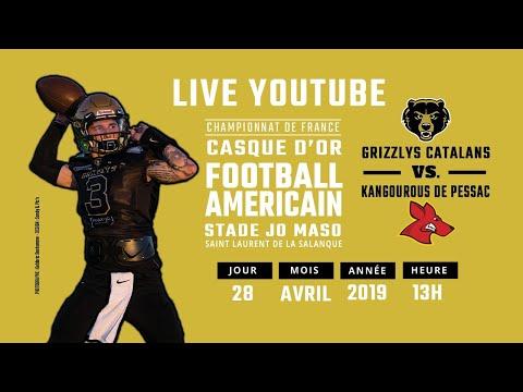 Match 2019: Grizzlys Catalans VS Kangourous de Pessac