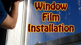 Winterize Your Home and Save Money - Window Insulation Kit DYI - An Easy Inexpensive Way to Save