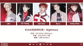 【認聲韓繁中字】B1A4(비원에이포) - Nightmare(악몽)