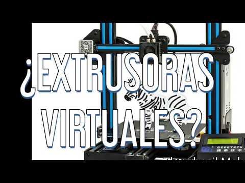geeetech-a10m:-¿7-extrusoras-virtuales?