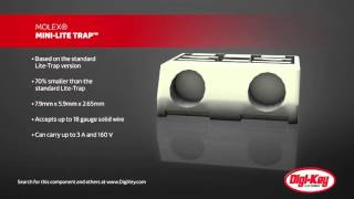 Video Molex MINI-LITE TRAP Connector Product Overview | Digi-Key Daily download MP3, 3GP, MP4, WEBM, AVI, FLV November 2017