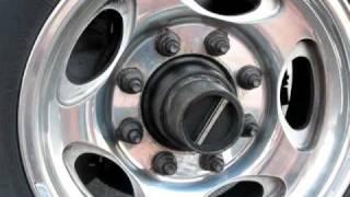 Ford hub locks - a look inside.