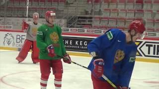 Секреты сборной РОССИИ на тренировке Аскаров или Мифтахов Как сыграем со Швейцарией