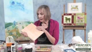 Susan Marlowe- Joes Prime Cradled Painting Panels