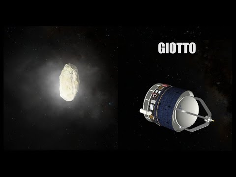Giotto - Orbiter Space Flight Simulator