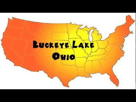 How to Say or Pronounce USA Cities — Buckeye Lake, Ohio