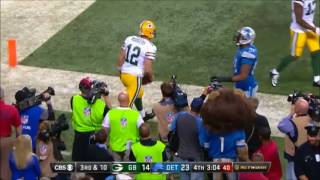 Aaron Rodgers Highlights vs. Lions (2011-2012, 2014-2016)