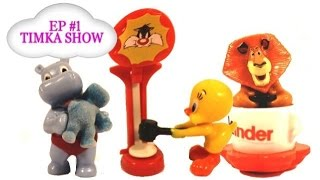 Kinder Surprise Eggs Toys on Timka Show Channel Ep1