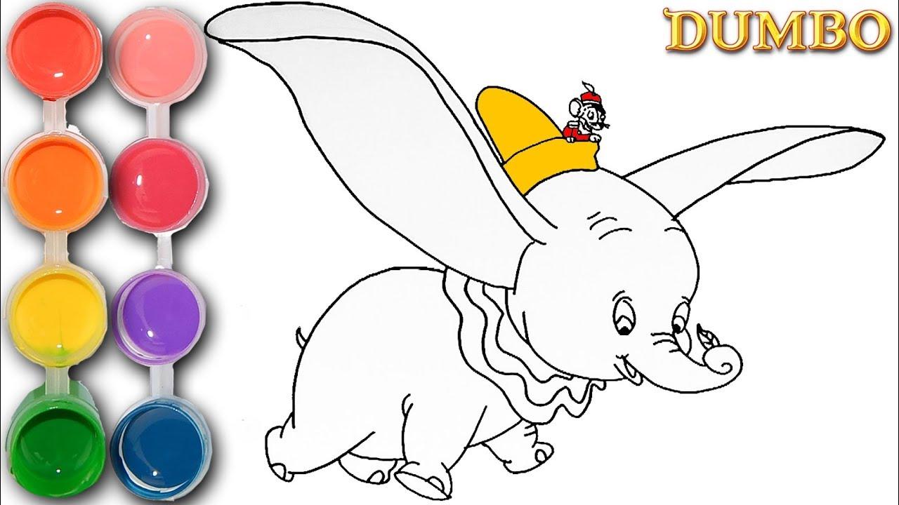 how to draw elephant kid
