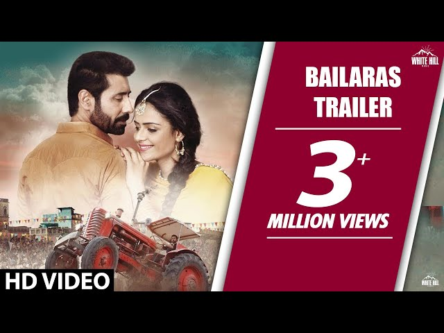 Bailaras (Trailer) Binnu Dhillon | Prachi Tehlan | White Hill Studios | Releasing on  6th Oct