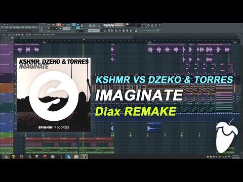KSHMR vs Dzeko & Torres - Imaginate (Original Mix) (FL Studio Remake + FLP)