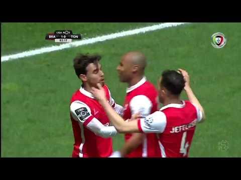 Resumo: Braga 1-0 Tondela (Liga 24ªJ)