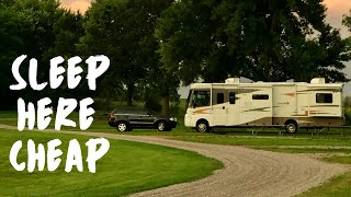 How To Find CHEAP and LOW COST Camping [RVing Full Time]