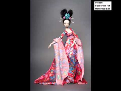 Vintage Ancient Chinese Porcelain Dolls | Picture Ideas Of Rare Decorative & Beautiful Art