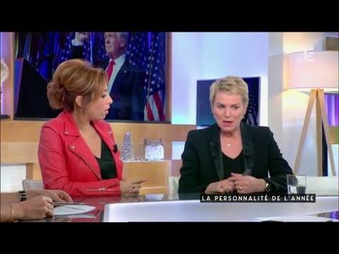 Lea Salame et Elise Lucet - C a vous - 21/12/2016