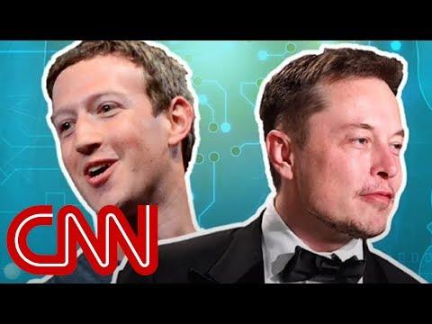 Elon and Zuckerberg\'s clash over artificial intelligence