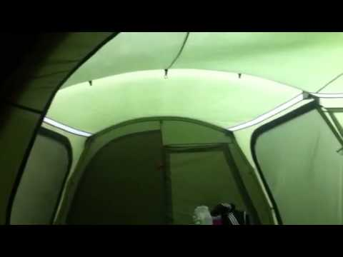 Vango diablo 900xl tent in a storm 60mph high winds & Vango diablo 900xl tent in a storm 60mph high winds - YouTube