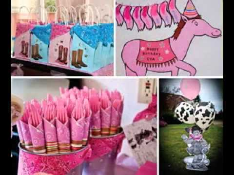 DIY Cowgirl Party Decorating Ideas