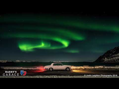 Rolls Royce Shadow to the Arctic part 2, chasing the Northern Lights