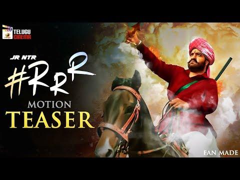 Jr NTR's RRR Movie Motion TEASER | Ram Charan | Alia Bhatt | SS Rajamouli | Fan Made | Telugu Cinema