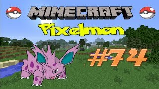 Minecraft: Pixelmon - Эпизод 74 - Продолжаем прокачивать Покемонов (Pokemon Mod)