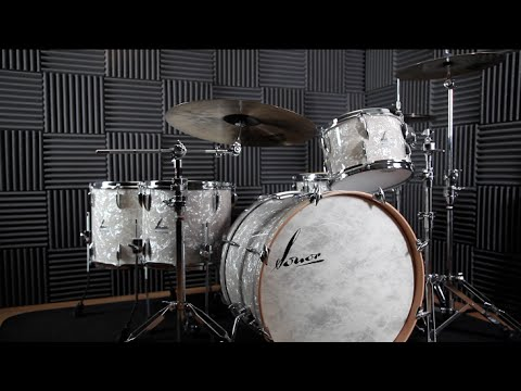 Sonor Vintage drum kit hands-on demo for Rhythm Magazine