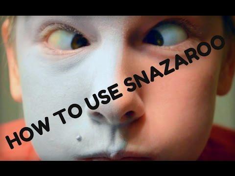 Applying And Sealing Snazaroo