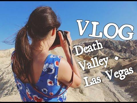 VLOG- Death Valley CA e Las Vegas em dois dias | Evie Olivi