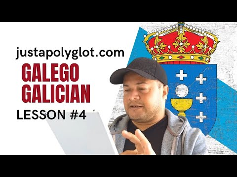Galician Language for foreigners - Gallego - Galego para est