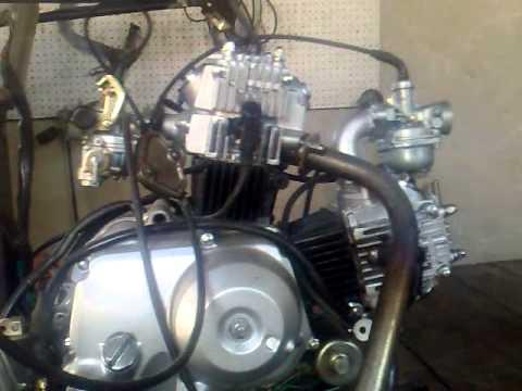 Bicilndrico 220 de 2 110 cc  YouTube