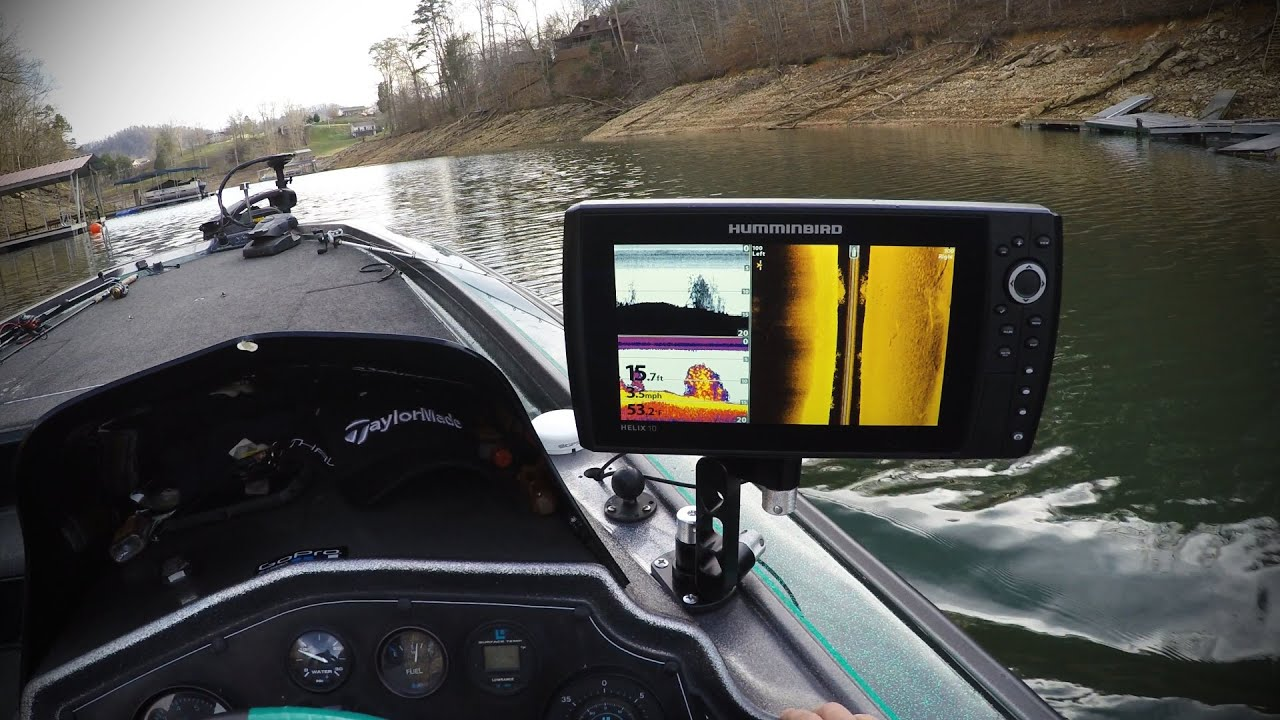 Easttnfishing Humminbird Helix 10 Si And 20 Lb Striper