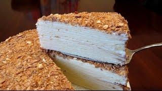 """Торт """"Наполеон"""" по школьному рецепту"""