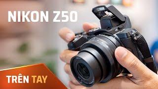 Trên tay Mirrorless Nikon Z50: cảm biến APS-C, thiết kế rất đẹp, không chống rung thân máy...