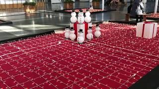 ◆クリスマスバージョン 大阪駅 「一人ひとりの思いを、届けたい JR西日本」◆