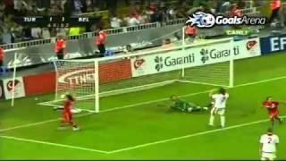 Euro 2012 - Turkey 3-2 Belgium - Macin Özeti Goller - HQ Türkiye - Belçika
