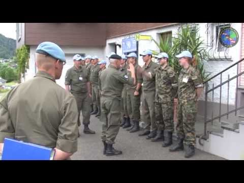 MOC 2014 Inspektion durch Chief Military Observer