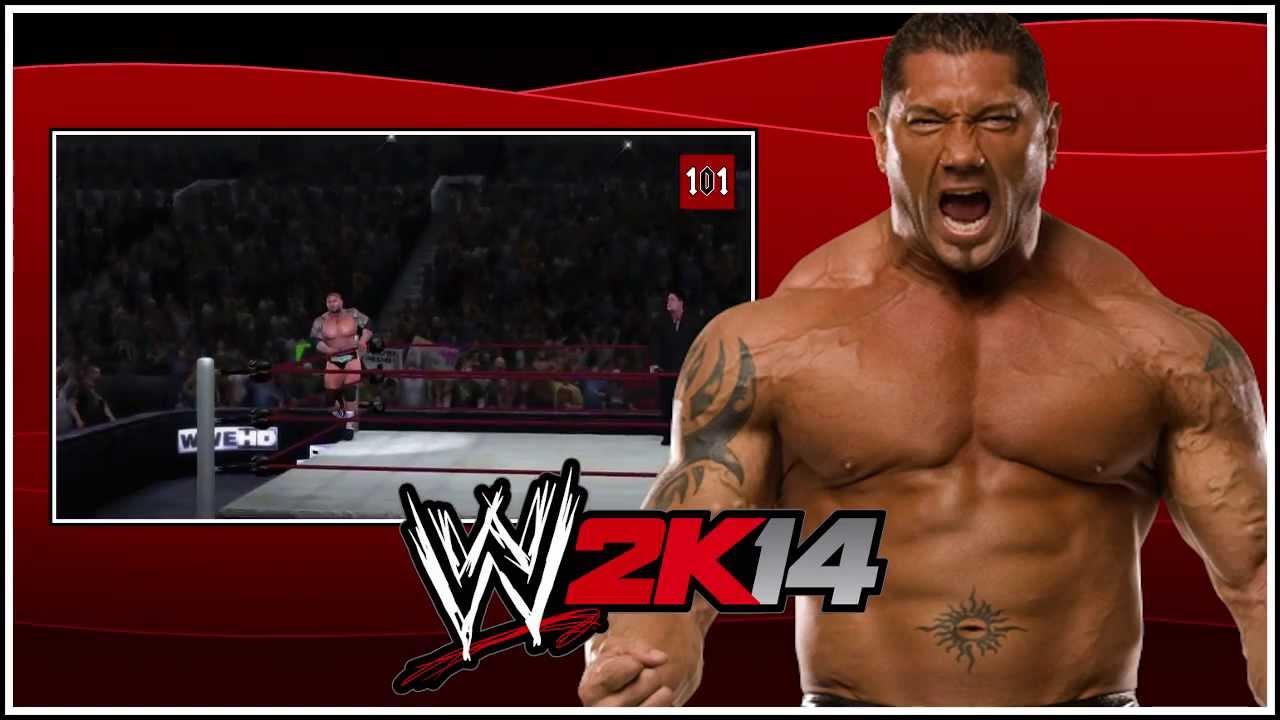 Wwe 2k14 Batista WWE 2K14 - BATISTA ON ...