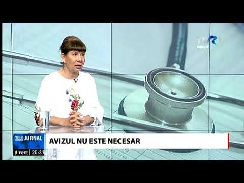 Despre intrarea in colectivitate cu Dr. Valeria Herdea, in cadrul emisiunii Telejurnal - TVR