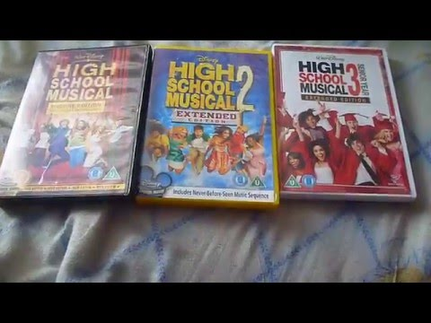 High School Musical 1-3 (UK) DVD Unboxing