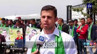 وقفة تضامنية ضد حملة اعتقال الطلبة من قبل الاحتلال - (28-3-2018)