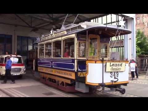 Leipzig: Historisches Straßenbahnmuseum
