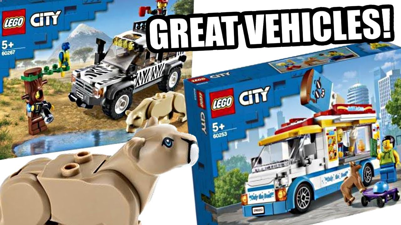 MORE LEGO City 2020 sets - The actual GREAT stuff. - YouTube