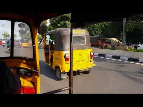 4K | Hyderabad in Auto Rickshaw.