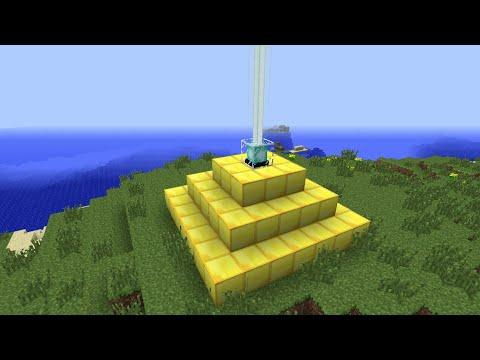 как сделать маяк в майнкрафте #1